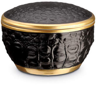 L'OBJET Crocodile Round Box