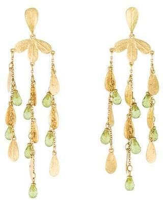 Roberto Coin 18K Peridot Chandelier Earrings