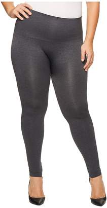 Spanx Plus Size Seamless Print Leggings Women's Clothing