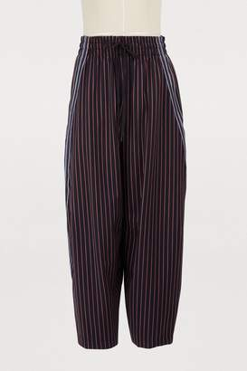 See by Chloe Striped trousers