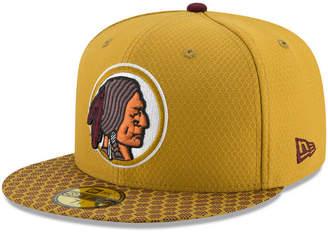 New Era Boys' Washington Redskins Sideline 59FIFTY Fitted Cap