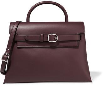 Alexander Wang - Attica Leather Shoulder Bag - Burgundy $850 thestylecure.com