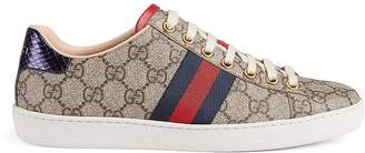 Gucci Women's New Ace Canvas Sneakers