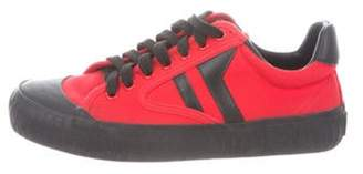 Celine Plimsole Low-Top Sneakers Red Plimsole Low-Top Sneakers