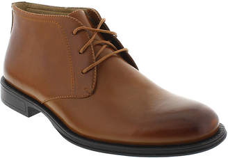 Deer Stags Mean Mens Leather Desert Boots