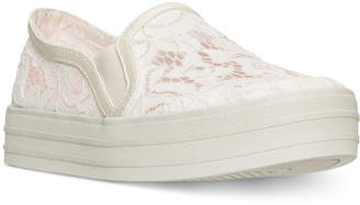 Skechers Women's Double Up - Flora Slip-On Casual Sneakers from Finish Line $44.99 thestylecure.com