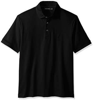 Nautica Men's Classic Fit Short Sleeve Solid Premium Cotton Polo Shirt