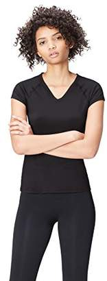 Active Wear Activewear Gym Tops For Women,(Manufacturer size: Large)