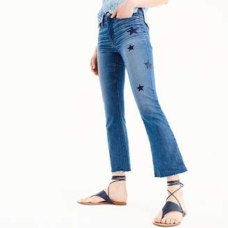 J.Crew Demi-boot crop jean: star edition