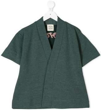 Douuod Kids wonder embroidered cardigan