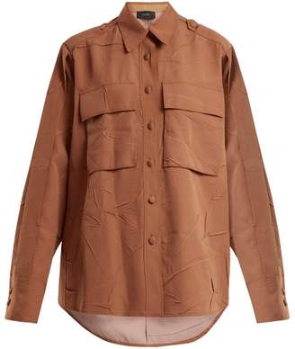 Joseph Jim Patch Pocket Blouse - Womens - Tan