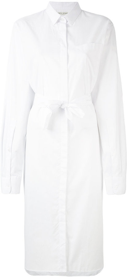Each X Other belted midi shirt dress
