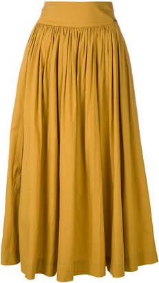 Woolrich midi full skirt