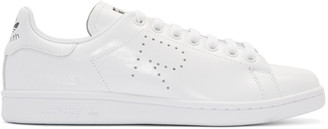 Raf Simons White adidas Edition Stan Smith Sneakers $400 thestylecure.com