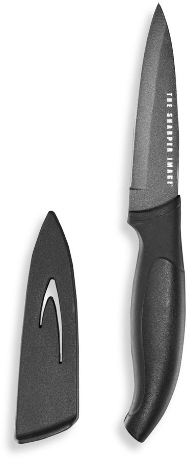 The Sharper Image 3 1/2-Inch Paring Knife with Sheath