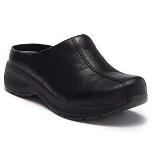 Dansko Shelly Tumbled Leather Slip-On Clog