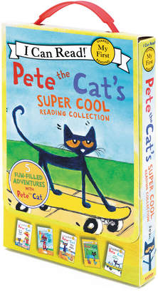 Harper Collins Publishers Pete The Cat's Super Cool Reading Collection (My First I Can Read) By James Dean
