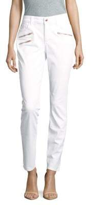 Ami Super Skinny Jeans $124 thestylecure.com