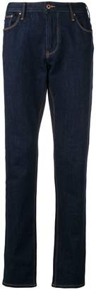 Emporio Armani bootcut straight jeans