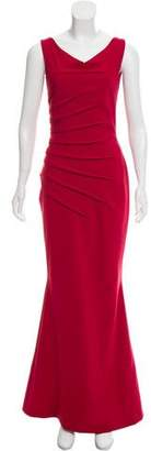 Chiara Boni Ruched Evening Dress