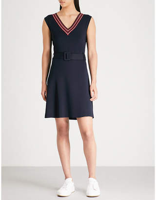 Claudie Pierlot Maina crepe dress