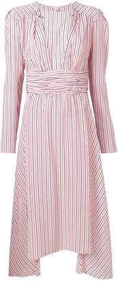 Ermanno Scervino striped dress