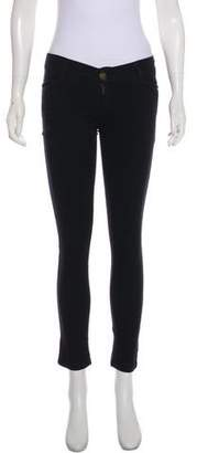 Current/Elliott Low-Rise Skinny Pants