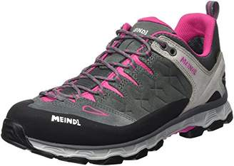 Meindl Women's Lite Trail Lady GTX Low Rise Hiking Boots, Grey (Anthrazit/Pink 31)