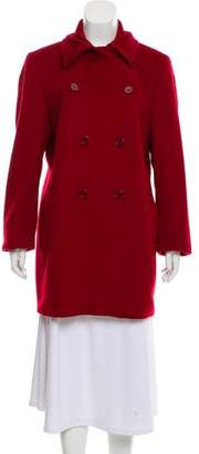 Max Mara Wool Double-Breasted Coat