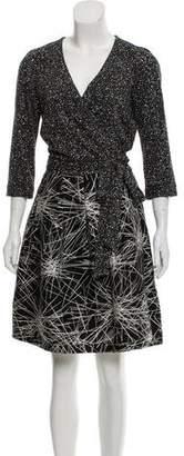 Diane von Furstenberg Jewel Printed Dress