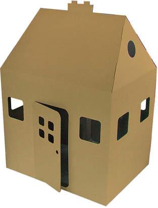 Kid-Eco Cardboard Toys Kid Eco Playhouse Brown