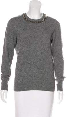 Equipment Embellished Wool Sweater