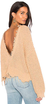 Wildfox Couture Palmetto Sweater in Tan $168 thestylecure.com