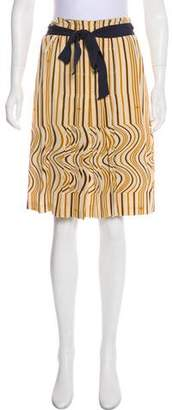 Tory Burch Knee-Length Stripe Skirt