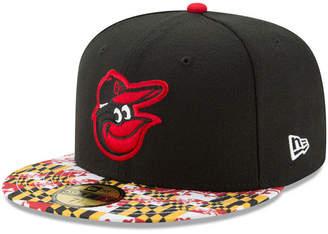 New Era Baltimore Orioles Turn Back The Clock 59FIFTY Cap