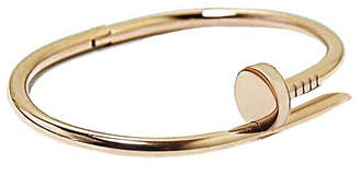 Sterling Forever Women's 14K Gold-Plated Nail Bangle