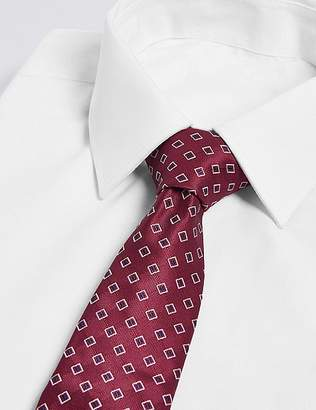 Marks and Spencer Geometric Design Tie