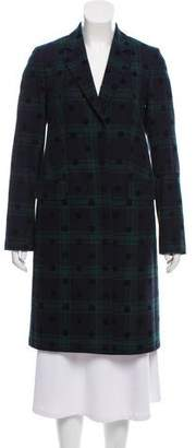 Paul Smith Plaid Wool Coat