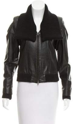 Maison Margiela Lightweight Leather Jacket