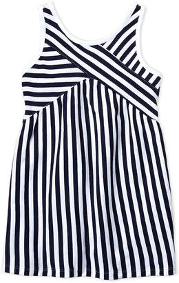 Nautica Girls 4-6x) Stripe Crisscross Top Dress