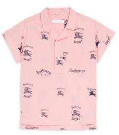 Burberry Little Girl's& Girl's Priya Printed Polo
