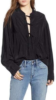 Treasure & Bond Blouson Sleeve Tunic
