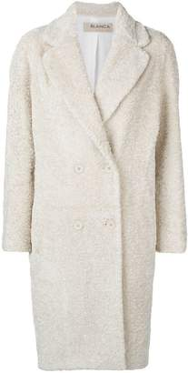 Blanca eco fur overcoat