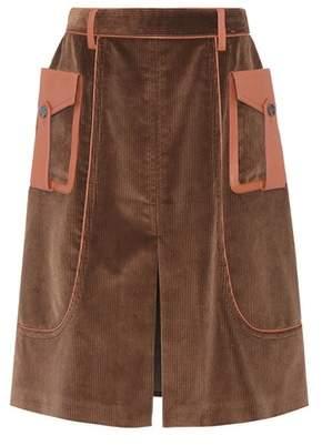 Prada Corduroy skirt