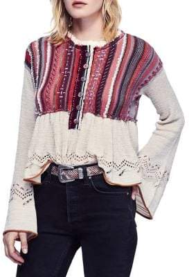 Free People Meadow Lakes Sweater