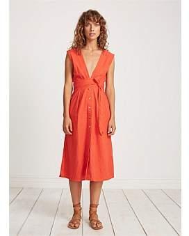 Faithfull The Brand Le Roch Midi Dress