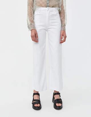 Eckhaus Latta Wide Leg Jean in White