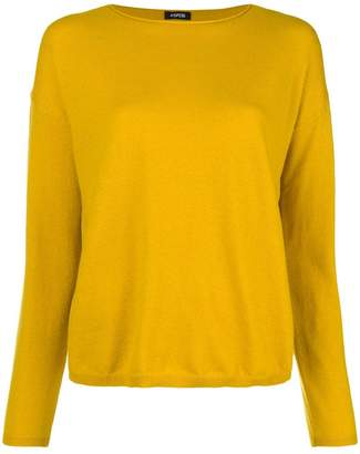 Aspesi crewneck knitted top
