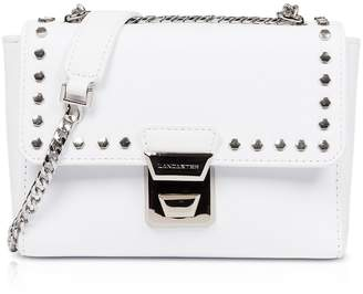 91f30e334 Lancaster Paris Gena Rock Studs White Crossbody Bag