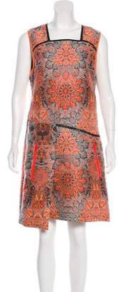 Helmut Lang Jacquard Knee-Length Dress w/ Tags